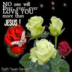 Jesus loves you Godly Qoutes, Jesus Christ Lds, French Quotes, Jesus Loves You, Happy Thursday, Love You More Than, Garden, Flowers, Plants