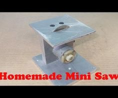 Homemade Mini Circular Table Home Built Jig Saw Cutting PCB With Old Motor Hand Drill1 pcs motor 50 watt take from old hand drill More Good Projects Homemade Nice Work for DIY Handmade here:1 pcs Aluminium 120 mm x 130 mm x 12 mm for bed 1 pcs Aluminium 110 mm x 110 mm x 60 mm for top 1 pcs Aluminium 85 mm x 129 mm x 20 mm 1 Pcs HSS Rotary Tools Circular Saw Blades Cutting Discs Mandrel Cutoff Cutter Power tools multi tools