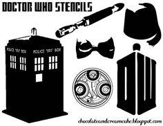 : 5 Doctor Who Craft Ideas - Yarn, Food & Words.: 5 Doctor Who Craft Ideas Doctor Who Birthday, Doctor Who Party, Doctor Who Craft, Diy Doctor, Dr Who, Just In Case, Cricut, Geek Stuff, Crafty
