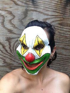 Scary Clown Mask Horror Venetian Carnival by MarysMonstrosities