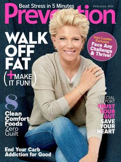 Prevention Magazine: February 2016 – Joan Lunden | TV News & Views