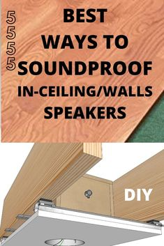 diy home theater ceiling speaker soundproofing - The world's most private search engine In Wall Speakers, Ceiling Speakers, Diy Speakers, Home Theatre Sound, At Home Movie Theater, Theater Rooms, Bed With Drawers, Sound Proofing, Room Decor