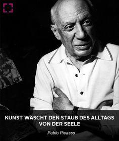 Zitat berühmter Maler - Pablo Picasso