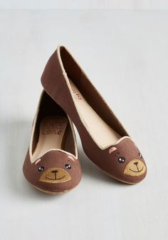 ModCloth bear flats // So cute, and so Baylor! #SicEm