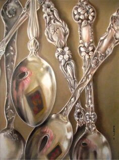 JEANNE ILLENYE - Still Lifes: silver