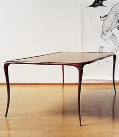 Bronze Aria Table - Paul Mathieu