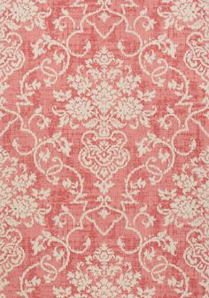 ALICIA, Raspberry, T89125, Collection Damask Resource 4 from Thibaut shop.wallpaperconnection.com