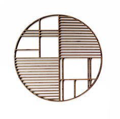 Deco Large Round Bamboo Trivet