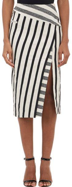 Altuzarra Blanket Stripe Jacquard Arcadia Skirt