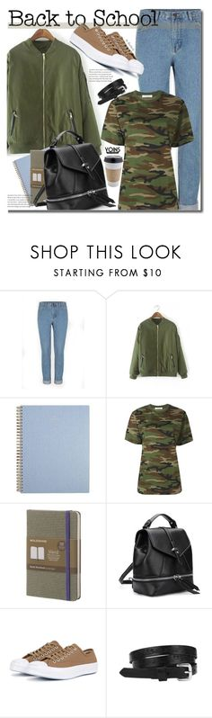 """Yoins School Style"" by beebeely-look ❤ liked on Polyvore featuring Alyx, Moleskine, Converse, BackToSchool, camo, schoolstyle, camouflage and yoins"