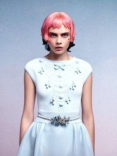 LOVE  Cara Delevingne for Chanel Cruise 2013 by Karl Lagerfeld