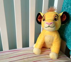 Calm the Lion with SIMBA Dreamy Sounds Soother by Cloud b
