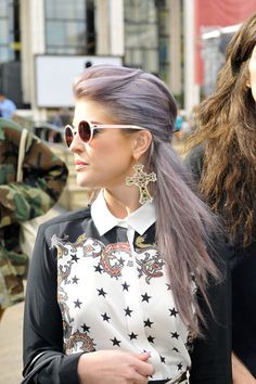 Loving Kelly Osbourne's hair