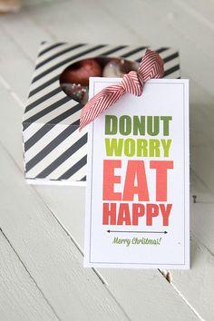 eighteen25: Christmas Neighbor Gifts with Free Printables