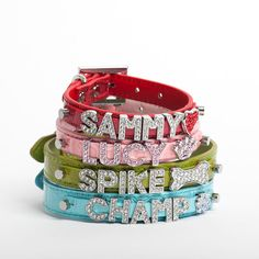 PERSONALIZED Dog Collar, Pet Accessories