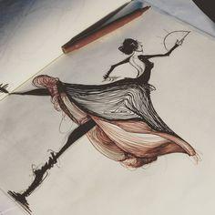 a beautiful dance; by chance.  _____________________________________ #sketchaday #artistmafia #artempire #worldofartists #artgallery #art_spotlight #art_empire #art_collective #instaart #bangbangstudio #draw #sketch #drawing #copicmarkers #pilotfineliner #sketching #art #artwork #moleskin #skechbook #copic #markers #concept #design #idsketching #speedsketch #characterdesign