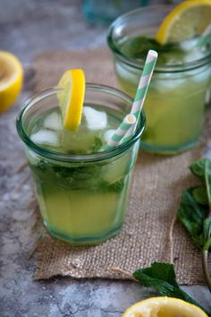 Orange Blossom and Mint Lemonade — My Moroccan Food