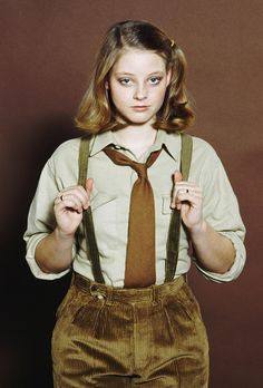 jodie foster young, reminds me of my friend diamond