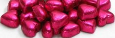 Rose Chocolate Hearts - 1kg, £11.95