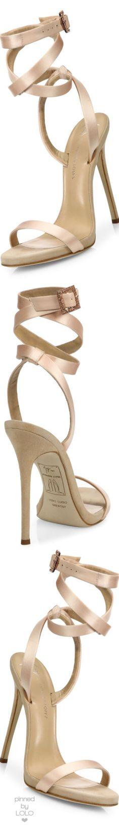 00182f72e Trendy High Heels For Ladies : Giuseppe Zanotti Giuseppe for Jennifer Lopez  120 Satin Ankle-Wrap Sandals