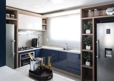 cozinhas azul marinho - Pesquisa Google