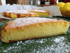 Λεμονόπιτα εξπρές θεϊκή Greek Sweets, Greek Desserts, Köstliche Desserts, Sweets Recipes, Delicious Desserts, Cooking Recipes, Dessert Party, Lemon Recipes, Greek Recipes