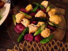 ゴルゴンゾーラのチーズソースで。(写真忘れた) - 3件のもぐもぐ - 温野菜 by chksg