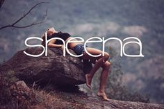 Sheena Typeface [-50%Intro] by Pere Esquerrà on Creative Market