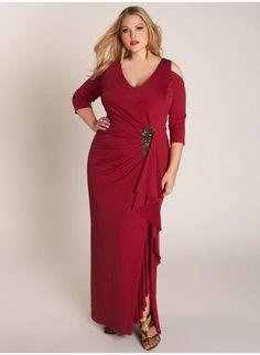 Margarita Gown in Crimson. IGIGI by Yuliya Raquel. www.igigi.com