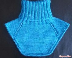El camisolín más fácilmente no куда - la Labor de punto para los niños - el País de las Mamás Crochet Slippers, Knit Or Crochet, Crochet Hats, Knitting Patterns Free, Free Knitting, Baby Knitting, Diy Tops, Collar Pattern, Neck Warmer