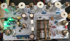 152.00$  Watch now - http://alipgj.worldwells.pw/go.php?t=32740585166 - IWISTAO Tube FM Stereo Radio Tuner Finished PCBA  Preamplifier Version No Including Power Transformer HIFI Audio 110V/220V DIY