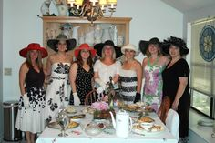 southern tea party ideas | Good old fashion southern 'Tea Party' | By Invitation Only...Event ...