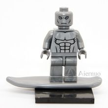 Wholesale No.177 Silver Surfer Individual minifigure super hero Fantastic Four compatible With Lego single sell //Price: $US $7.49 & FREE Shipping //    #ironman #spiderman #homemaranha