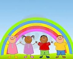 Illustration about An illustration featuring a row of children holding hands standing under a rainbow in the grass with blue sky. Illustration of illustrated, child, clip - 5306831 Meditation Kids, Meditation Scripts, Mindfulness For Kids, Mindfulness Meditation, Relaxation Scripts, Guided Relaxation, Coping Skills, Social Skills, Chico Yoga