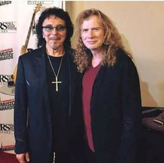 Tony Iommi and Dave Mustaine...........