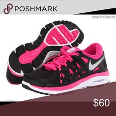 Nike Tennis Like new, black, pink and silver Dual Fusion Nike. Nike Shoes Athletic Shoes