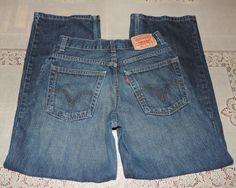 Levi's 569 Loose Straight Boys Jeans - 14 Slim - 25W x 27L (25W x 26.5L)
