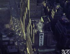 New York 1969 - down from Empire State Building