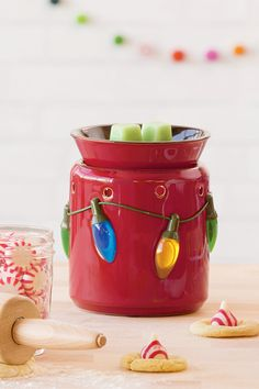 Holiday Lights 2016 Scentsy warmer