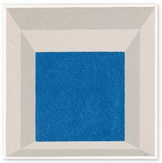 """Josef Albers, STUDY FOR HOMAGE TO THE SQUARE: """"FRAMED SKY"""" A"""
