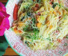 Rezept Veganer Glasnudel - Salat von aprilmaren - Rezept der Kategorie Vorspeisen/Salate