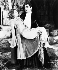 Bela Lugosi and Helen Chandler in Dracula (1931)
