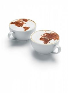 Worldwide Coffee Cups photographed by Tal Silverman - Picture Of The Week - ONE EYELAND