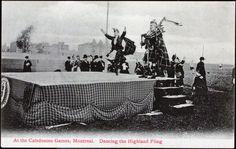 At the Caledonian Games, Montreal - Highland Fling ca1906-1914