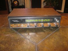 ViINTAGE RARE TELEDYNE PACKARD BELL Solid State AM-FM Radio Model RS-103