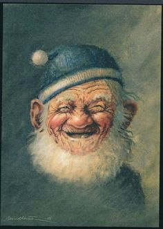 "Midthun Collector""s Looks like my Uncle! Gnome 4, Illustration Inspiration, Baumgarten, Kobold, Dream Fantasy, Scandinavian Folk Art, Vintage Fairies, Cartoon Sketches, Woodland Creatures"