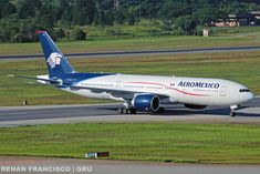 AeroMexico Boeing 777-2Q8/ER (registered N774AM)