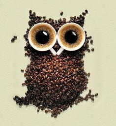 I have a thing for owls - so cute (and coffee!)