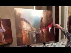 "FREE! Full video ""Paris"" painter Igor Sakharov"