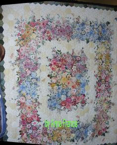 Elizabeth's Quilt Projects: Amazing Handwork of Anne Francis